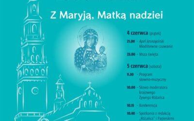 IX Ogólnopolska Pielgrzymka Żywego Różańca na Jasną Górę. Z Maryją, Matką nadziei 4-5 czerwca 2021 roku